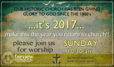 Welcome... Join Us for Worship