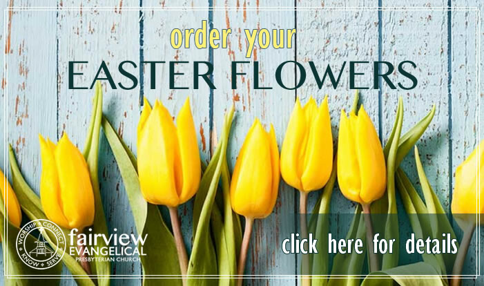 Order your Easter Flowers