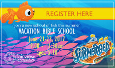 Vacation Bible School 2017 - Daily 9:00 AM