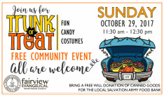 Trunk or Treat 2017 - Oct 29 2017 11:30 AM