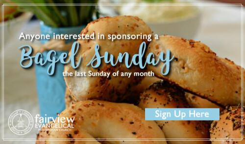 Bagel Sunday Sign Up