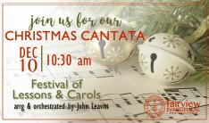 Christmas Cantata 2017 - Dec 10 2017 10:30 AM