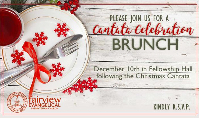 Cantata Celebration Brunch - Dec 10 2017 11:30 AM