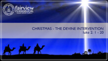 Christmas - The Divine Intervention