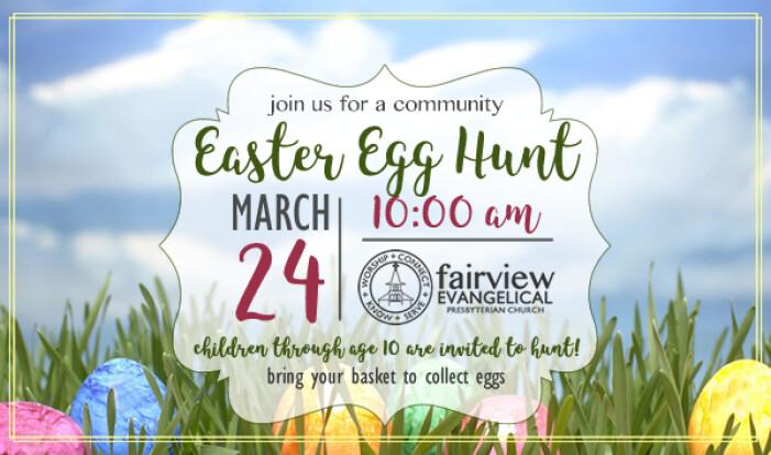 Easter Egg Hunt - Mar 24 2018 10:00 AM