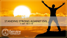 Standing Strong Against Evil