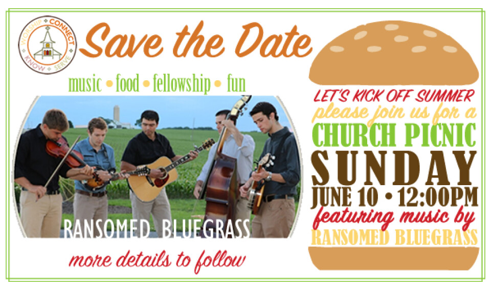 Church Picnic with Ransomed Bluegrass