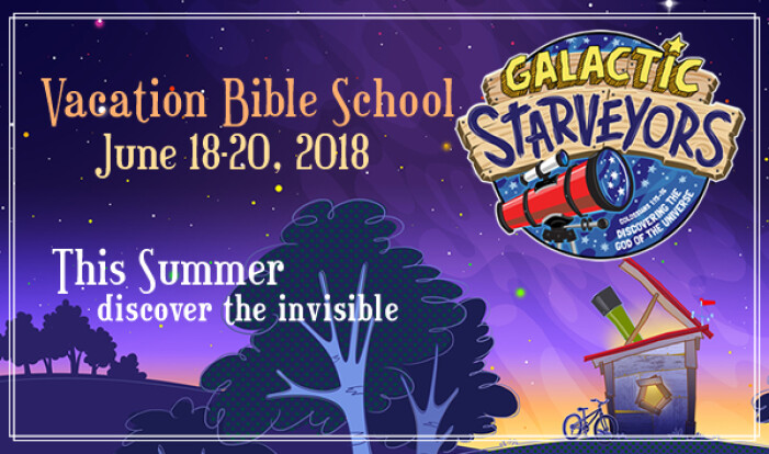 Mark your Calendars!! VBS is going to be out of this world!