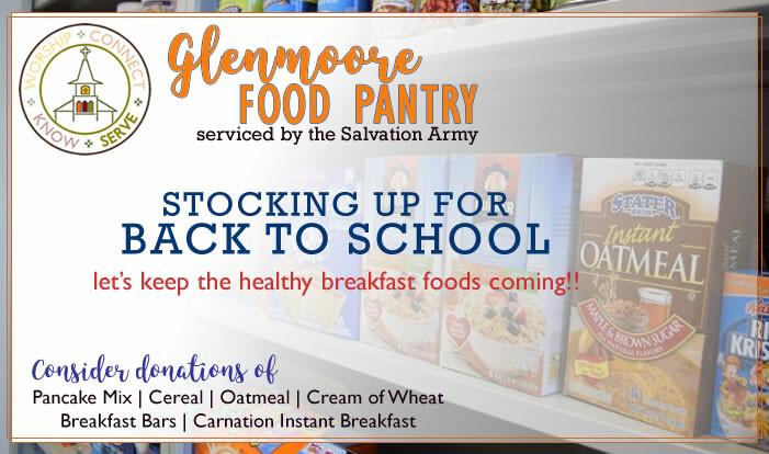 SERVE // Glenmoore Food Pantry