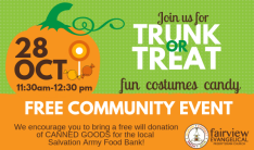 Trunk or Treat 2018 - Oct 28 2018 11:30 AM
