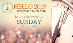 WELCOME ... Join Us for Worship
