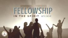 Fellowship in the Spirit