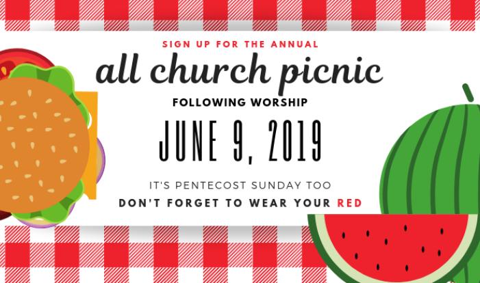 All Church Picnic - Jun 9 2019