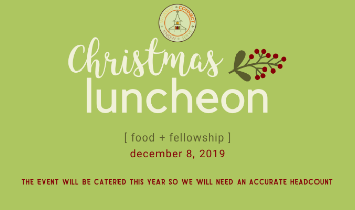 Christmas Luncheon 2019 - Dec 8 2019 11:30 AM