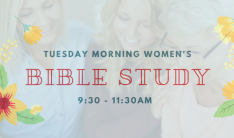 Women's Bible Study - Tuesdays 9:30 AM
