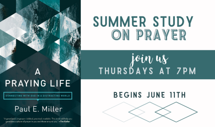 Prayer Study Group - Thursdays 7:00 PM