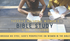 Women's Bible Study - Tuesdays 9:30 AM