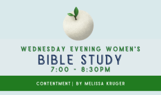 Women's Bible Study - Wednesdays 7:00 PM