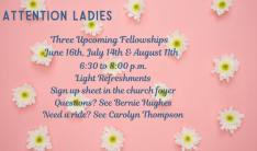 Women's Bible Study - Wednesdays 7:00 PM